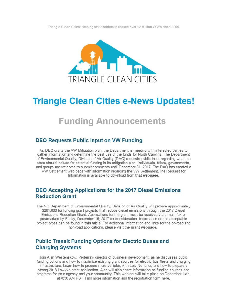 e-News Updates _ Triangle Clean Cities Coalition-1